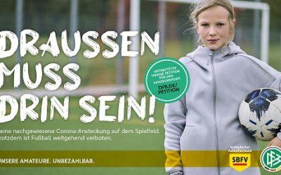 DFB und DOSB starten Kampagne für den Amateursport!