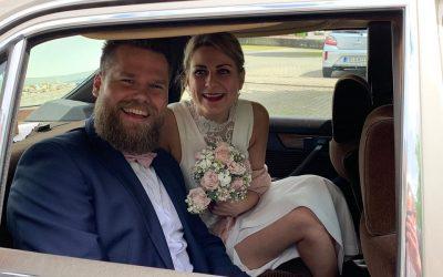 Schöne Nachrichten! Henny und Christina haben geheiratet!