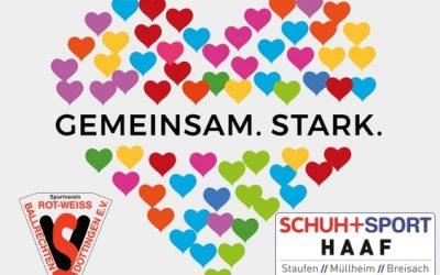 """""""Gemeinsam stark"""" Tolle Aktion von """"SCHUH+SPORT HAAF""""!"""