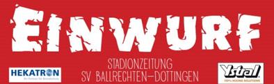 Stadionzeitschrift zum Heimspiel gegen den SV Kirchzarten online!