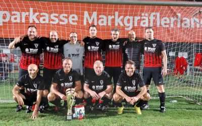 AH gewinnt Turnier in Hügelheim!
